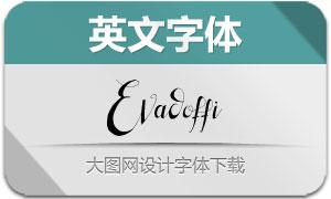 Evadoffi(英文字体)