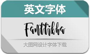 Fanttikha(英文字体)