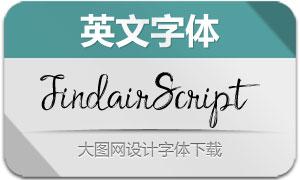 FindairScript(英文字体)