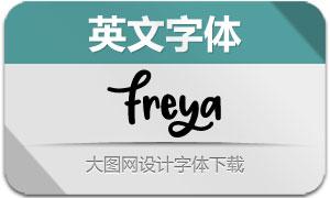 Freya-Regular(英文字体)