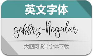 geffry-Regular(英文字体)