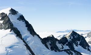巍峨雄伟群山自然风光摄影高清图片