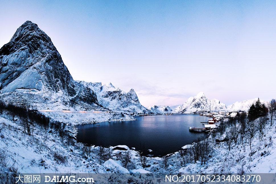 高清大图图片素材摄影自然风景风光山峰高山山峦大山雪山山野白雪冰雪