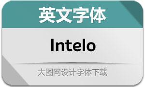 Intelo系列16款英文字体