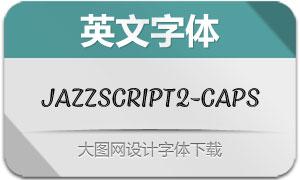 JazzScript2-Caps(英文字体)