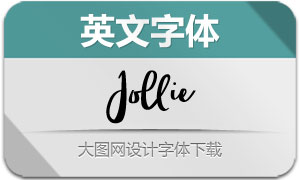Jollie(英文字体)