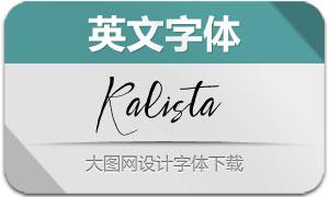 Kalista(英文字体)