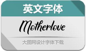 Motherlove(英文字体)