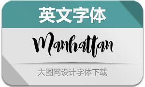 Manhattan(英文字体)
