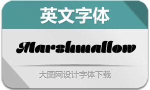 Marshmallow(英文字体)