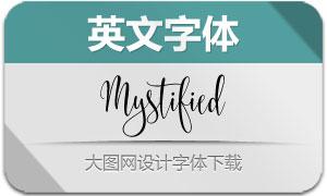 Mystified(英文字体)