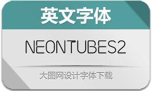 NeonTubes2(英文字体)