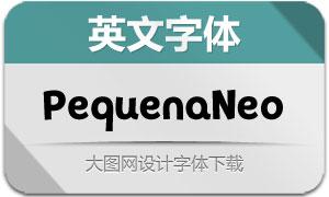 PequenaNeo系列9款英文字体