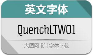 QuenchLTW01系列4款英文字体