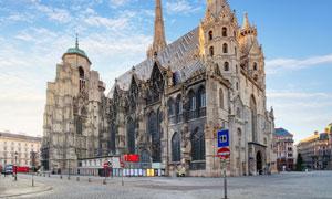 维也纳城市的标志建筑摄影高清图片