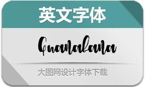 Guanabana(英文字体)