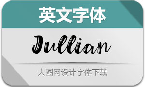 Jullian-Regular(英文字体)
