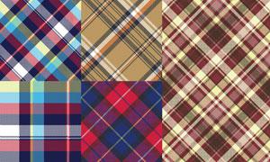 五彩纺织纹理背景图案矢量素材集V2