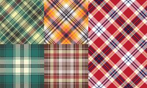 五彩纺织纹理背景图案矢量素材集V3