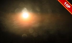 空中的耀眼阳光图层叠加高清图片V2