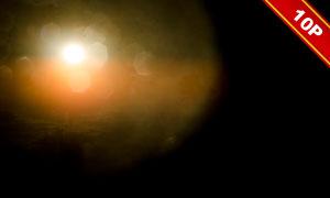 空中的耀眼阳光图层叠加高清图片V3