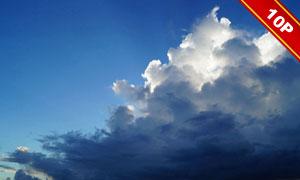 蓝天白云自然风景主题高清图片集V1