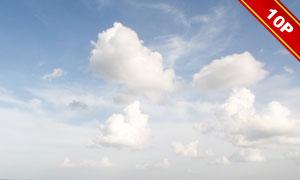 蓝天白云自然风景主题高清图片集V2