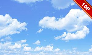 蓝天白云自然风景主题高清图片集V3