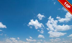 蓝天白云自然风景主题高清图片集V4