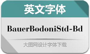 BauerBodoniStd-Bold(英文字体)