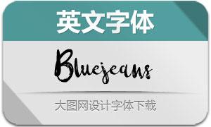 Bluejeans(英文字体)