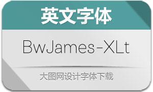 BwJames-ExtraLight(字体)
