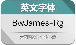 BwJames-Regular(英文字体)