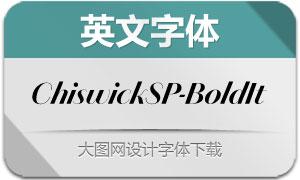 ChiswickSansPoster-BoldIt(字体)