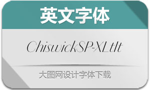 ChiswickSansPoster-XLightIt(字体)