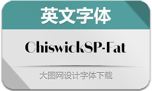 ChiswickSansPoster-Fat(字体)
