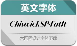 ChiswickSansPoster-FatItalic(字体)