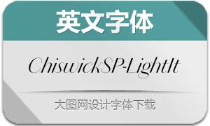 ChiswickSansPoster-LightIt(字体)