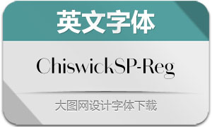 ChiswickSansPoster-Regular(字体)