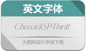 ChiswickSansPoster-ThinIt(字体)