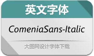 ComeniaSans-Italic(英文字体)