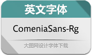 ComeniaSans-Regular(英文字体)