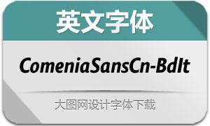 ComeniaSansCn-BoldIt(英文字体)