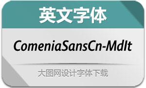 ComeniaSansCn-MdIt(英文字体)
