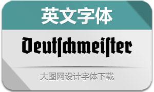 Deutschmeister(英文字体)
