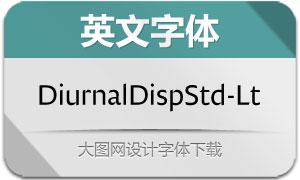 DiurnalDisplayStd-Lt(英文字体)
