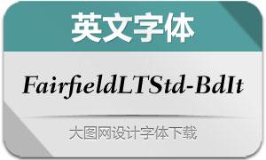 FairfieldLTStd-BoldIt(英文字体)