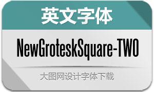 NewGroteskSquare-TWO(字体)