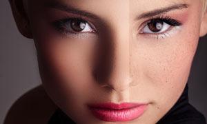 8种质感皮肤纹理的人像磨皮PS动作