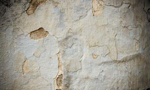 剥落严重的斑驳墙纹理背景高清图片